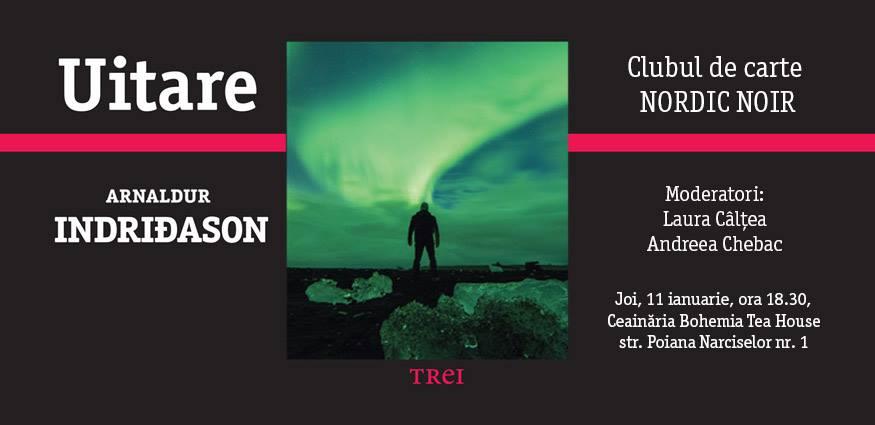 "Club de carte Nordic Noir: ""Uitare"", de Arnaldur Indriðason"