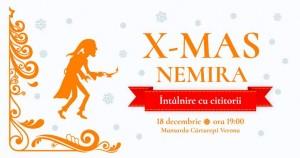 X-MAS Nemira: Întâlnire cu cititorii