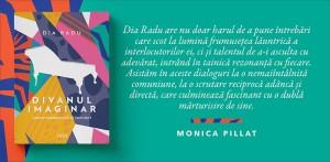 """Lansare la Cărturești Verona: """"Divanul imaginar"""", de Dia Radu"""