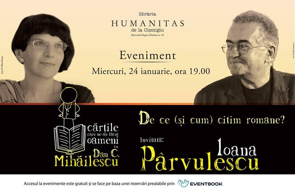 """""""Cărțile care ne-au făcut oameni"""", cu Dan C. Mihăilescu: """"De ce (și cum) citim romane?"""
