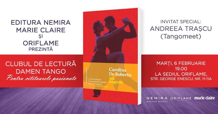 """Clubul de lectură Damen Tango: """"Zeii tangoului"""""""