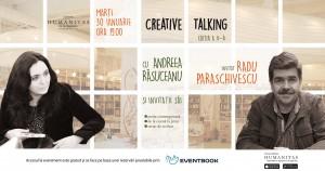 Creative talking cu Andreea Răsuceanu și Radu Paraschivescu