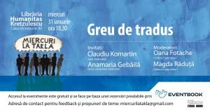 Miercuri la Takla - Greu de tradus