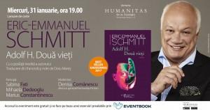 """Eric Emmanuel Schmitt – """"Adolf H. Două vieți"""""""