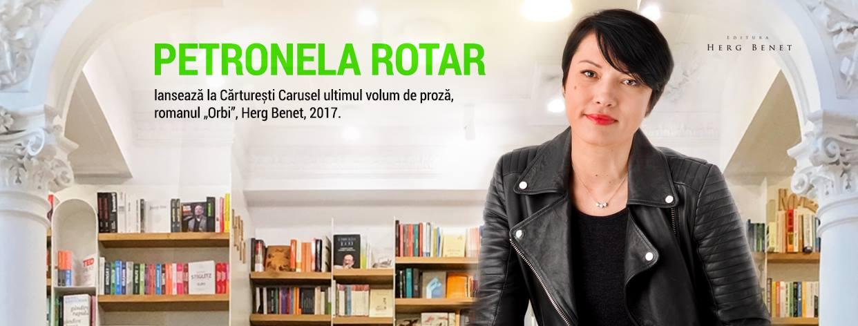 """Lansare """"Orbi"""", de Petronela Rotar"""