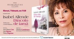 """Lansare Isabel Allende, """"Dincolo de iarnă"""""""