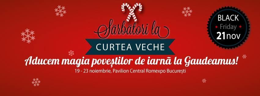 Evenimente Curtea Veche Publishing la Gaudeamus 2014