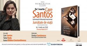 """Lansare """"Jumătate de viață"""", de Care Santos"""