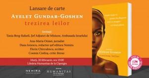 "Lansare de carte: ""Trezirea leilor"", de Ayelet Gundar-Goshen"