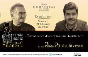Dan C. Mihăilescu în dialog cu Radu Paraschivescu