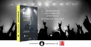 """Lansare """"Rock în timpuri noi"""", de Nelu Stratone"""