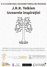 """A 3-a Conferință a Societății Tolkien din România: """"Izvoarele inspirației"""""""