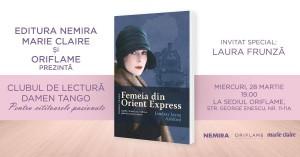 """Clubul de lectură Damen Tango - """"Femeia din Orient Express"""""""