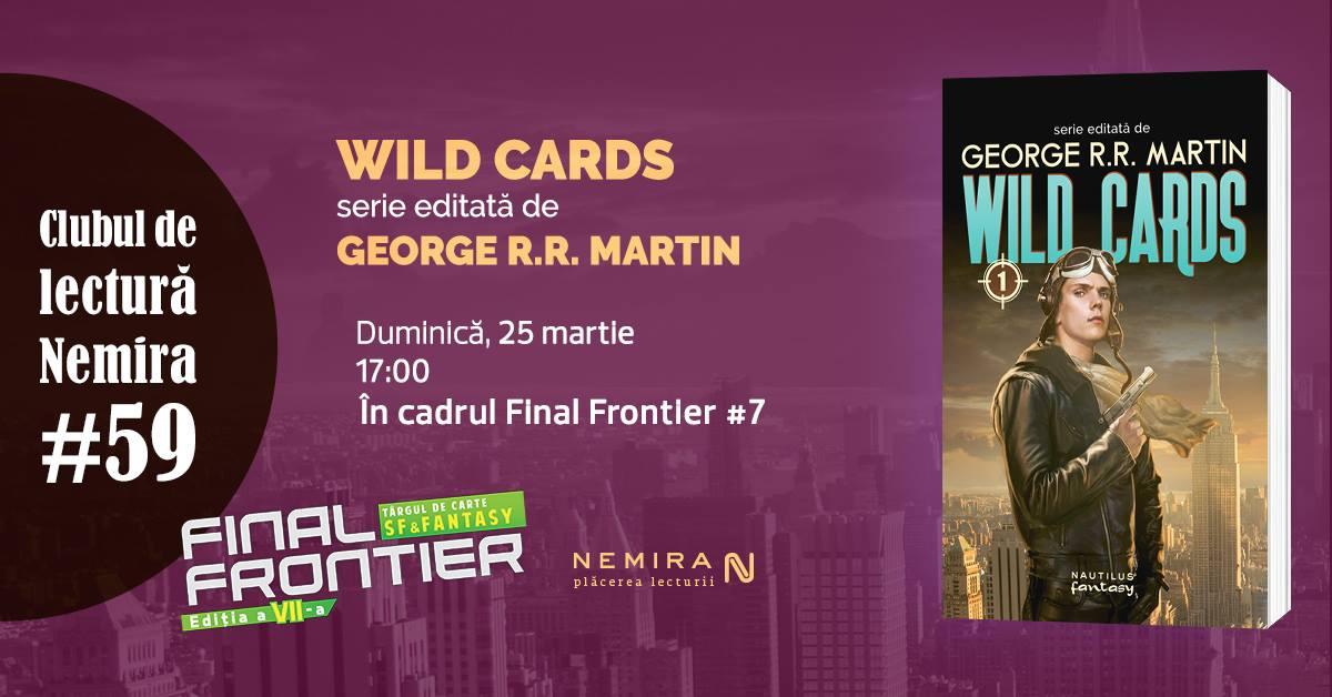 """Clubul de lectură Nemira #59: """"Wild Cards"""""""