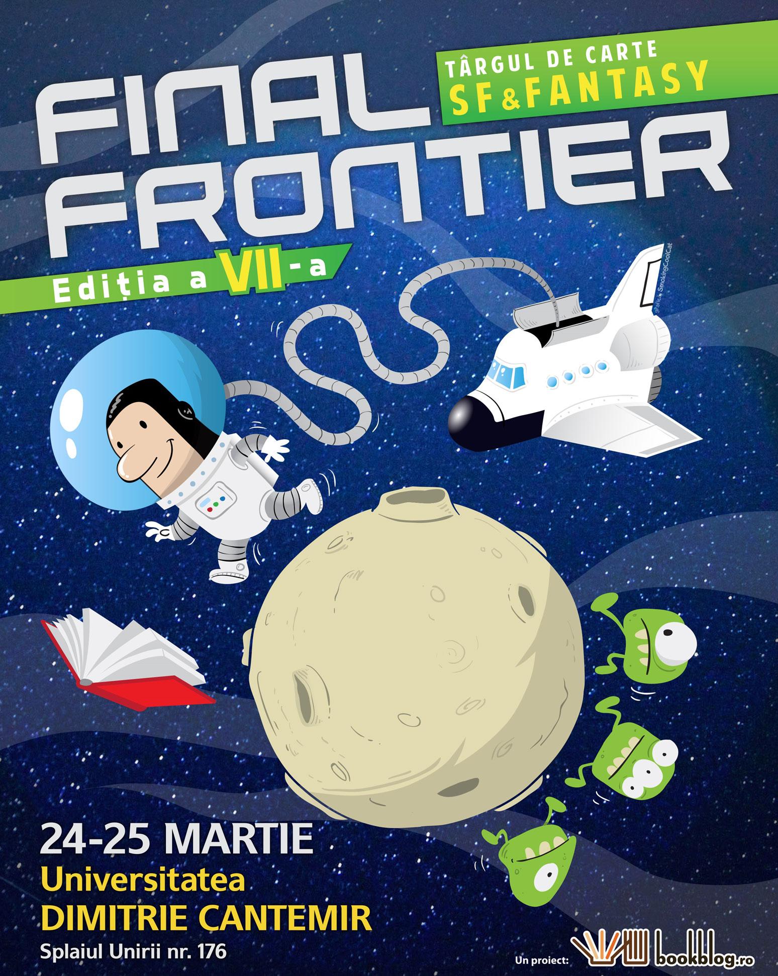 La a șaptea ediție Final Frontier îți faci #BibliotecăPeMarte