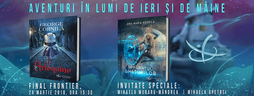 Crux Publishing vă invită la Final Frontier 2018 să pornim într-o aventură în lumi necunoscute!