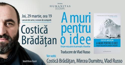 """Lansare """"A muri pentru o idee"""", de Costică Brădățan"""