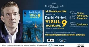 """Lansare """"Visul numărul 9"""", de David Mitchell"""