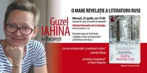 Guzel Iahina la București: lansare de carte&sesiune de autografe