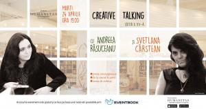 Creative talking cu Svetlana Cârstean și Andreea Răsuceanu