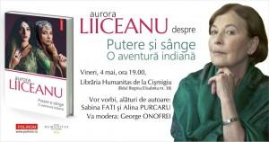 """Aurora Liiceanu despre """"Putere și sânge. O aventură indiană"""""""