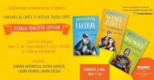 """""""Istoria povestită copiilor"""" - Lansare și atelier pentru copii"""