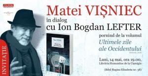 Matei Vișniec la Librăria Humanitas de la Cișmigiu