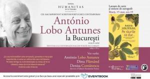 """António Lobo Antunes la București: lansare """"Pe râurile ce duc"""""""