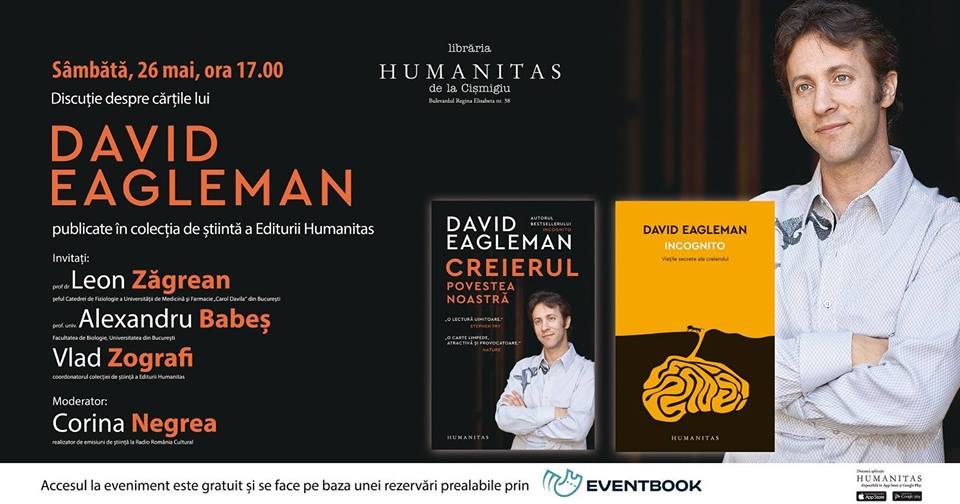 Ce spun neuroștiințele despre creier: discuție despre cărțile lui David Eagleman