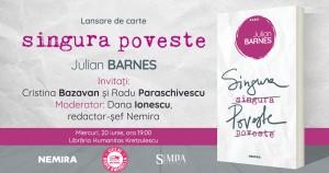 "Lansare ""Singura poveste"" de Julian Barnes"