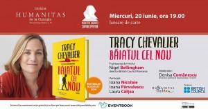 """Lansare Tracy Chevalier, """"Băiatul cel nou"""""""
