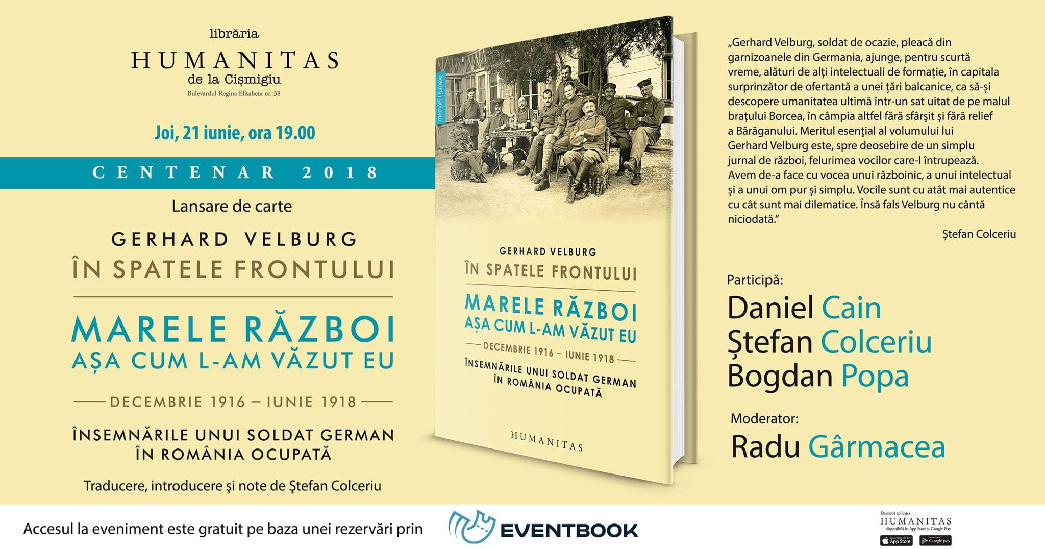 Însemnările unui soldat german în România – Gerhard Velburg