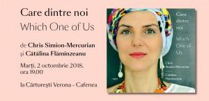 """Lansarea volumului """"Care dintre noi"""", de Chris Simion-Mercurian"""