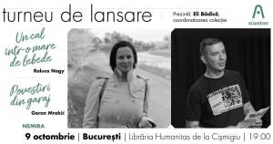 Raluca Nagy și Goran Mrakic în turneu n'autor - București