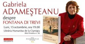 """Gabriela Adameșteanu despre """"Fontana di Trevi"""""""