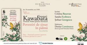 """Lansare Yasunari Kawabata, """"Povestiri de ținut în palmă"""""""