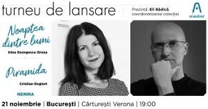 Turneu de lansare n'autor - București