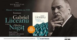 """Întâlnire cu Gabriel Liiceanu despre """"Așteptând o altă omenire"""""""
