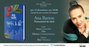 "Lansare ""Nemuritorii de rând"", de Ana Barton"