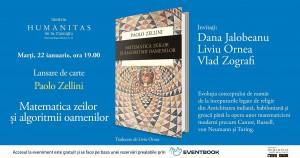 """Lansare """"Matematica zeilor și algoritmii oamenilor"""