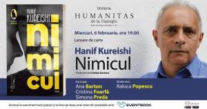 """Lansare de carte: """"Nimicul"""", de Hanif Kureishi"""