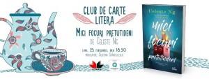 """Club de carte Litera #51: """"Mici focuri pretutindeni"""", de Celeste Ng"""