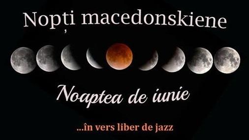Noaptea de iunie în vers liber de jazz