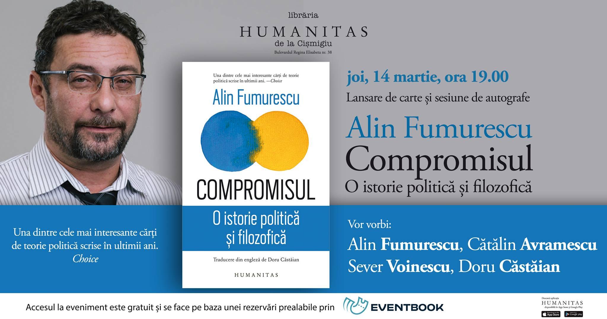 """""""Compromisul"""" în dezbatere, cu Alin Fumurescu și invitații săi"""