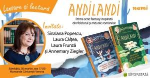 """Lansare și lectură """"Andilandi"""", de Sînziana Popescu"""