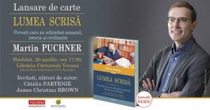 Întâlnire cu Martin Puchner (Harvard) la Bucureşti