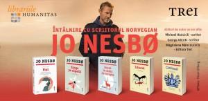 Scriitorul norvegian Jo Nesbø vine în România!