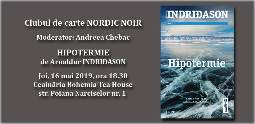 "Clubul de carte Nordic Noir: ""Hipotermie"", de Arnaldur Indridason"