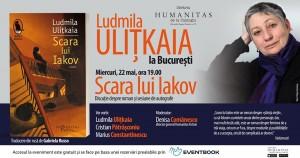 """Ludmila Ulițkaia la București. Discuție despre """"Scara lui Iakov"""""""
