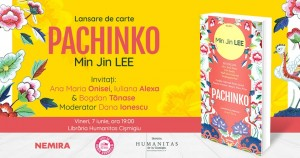 "Lansare de carte - ""Pachinko"", De Min Jin LEE"